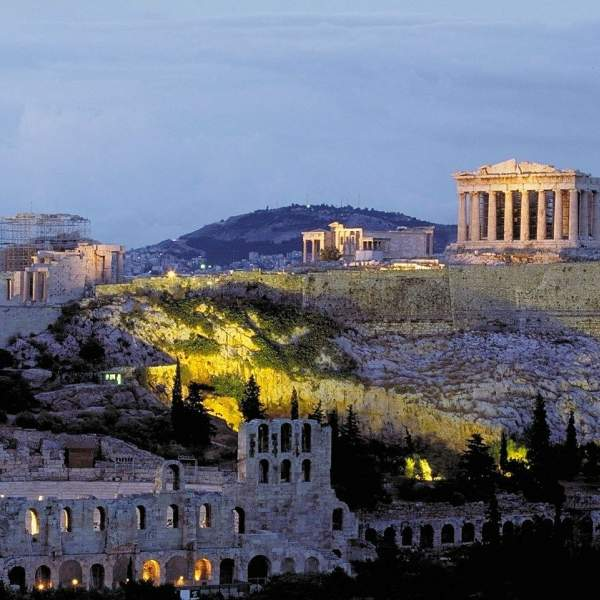 Visit the Acropolis of Athens at the beginning or the end of your cruise!