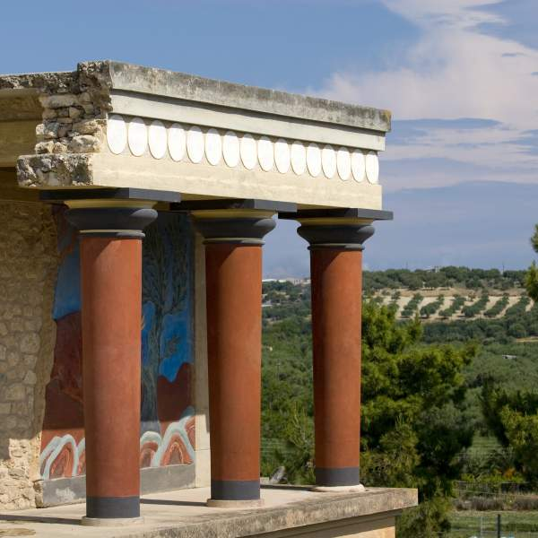 The Cretan archaeological site of Knossos