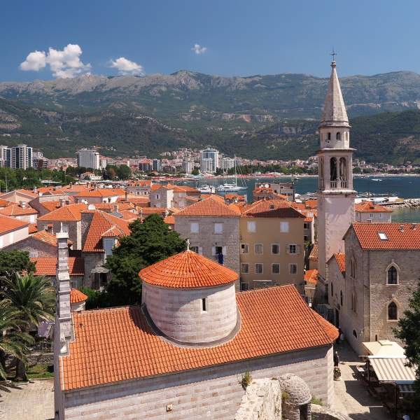 The beautiful Budva