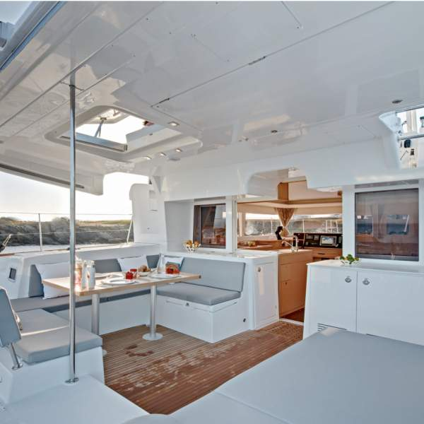 On the Lagoon 450, each space is designed for your comfort