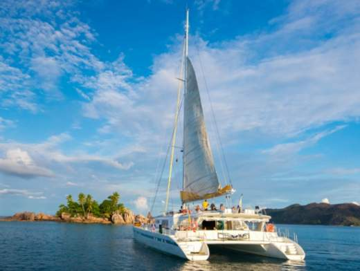 Cabin Cruise around the Seychelles