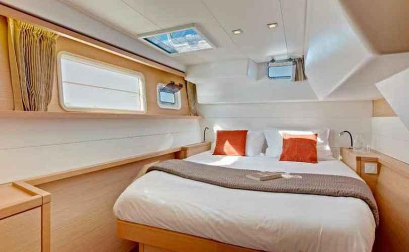 Des cabines comme des chambres d'hôtel…