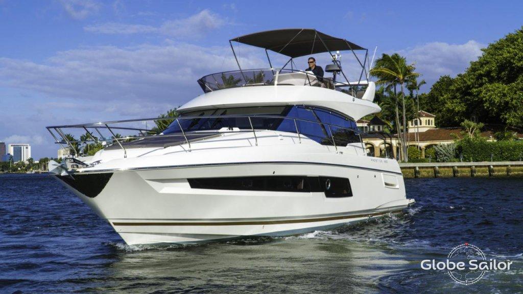 Prestige 460, boat specification Prestige 460 | 1024 x 576 jpeg 108kB