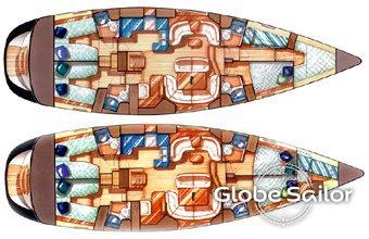 Sun Odyssey 54 Ds Boat Specification Sun Odyssey 54 Ds