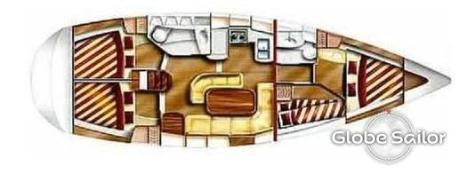 location gib sea 43 depuis le port de saint malo en france n 10134 83. Black Bedroom Furniture Sets. Home Design Ideas