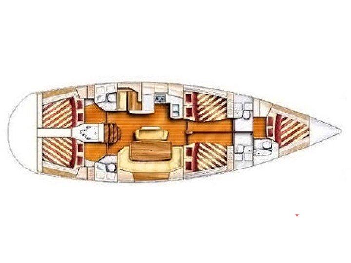 location gib sea 51 depuis le port de trogir en croatie n 12616 305. Black Bedroom Furniture Sets. Home Design Ideas