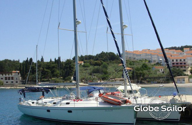 location gib sea 51 depuis le port de marina kastela en croatie n 1496 306. Black Bedroom Furniture Sets. Home Design Ideas