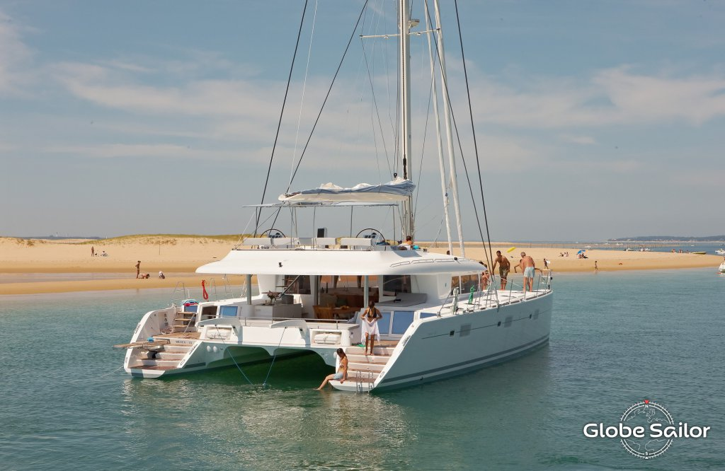 location lagoon 620 depuis le port de le marin en martinique n 15976 673. Black Bedroom Furniture Sets. Home Design Ideas