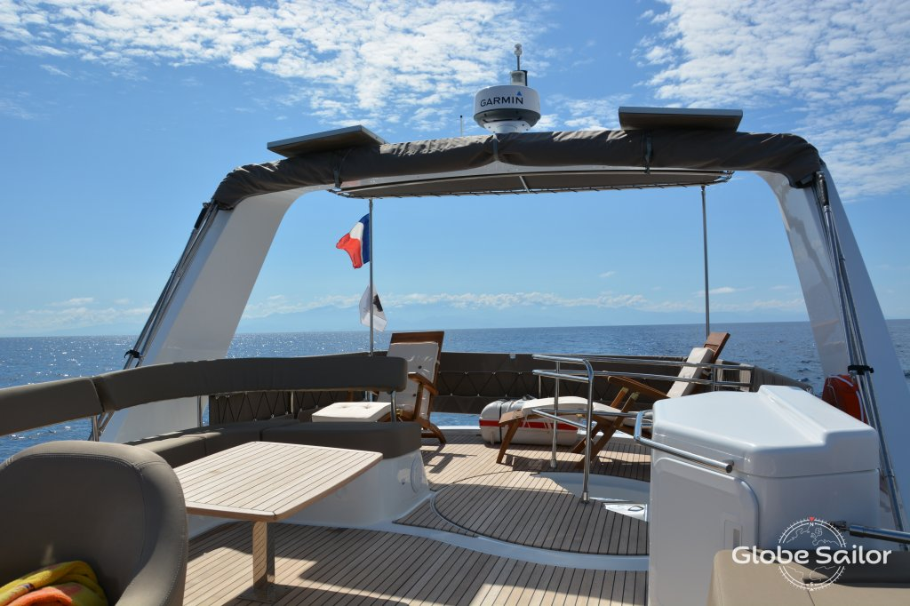 Rental Cumberland 47 from the charter base Calvi in France
