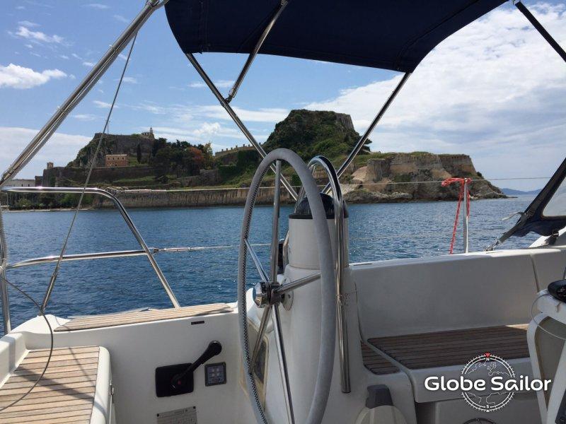 аренда лодки на корфу