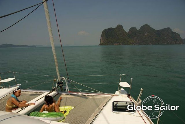 Rental Lagoon 380 from the charter base Phuket in Thailand - n°1809-75