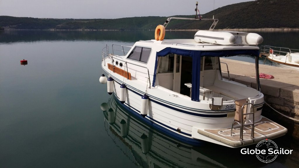Noleggio sas adria 1002 v dal porto di marina di veruda a for Noleggio di cabine di istrice