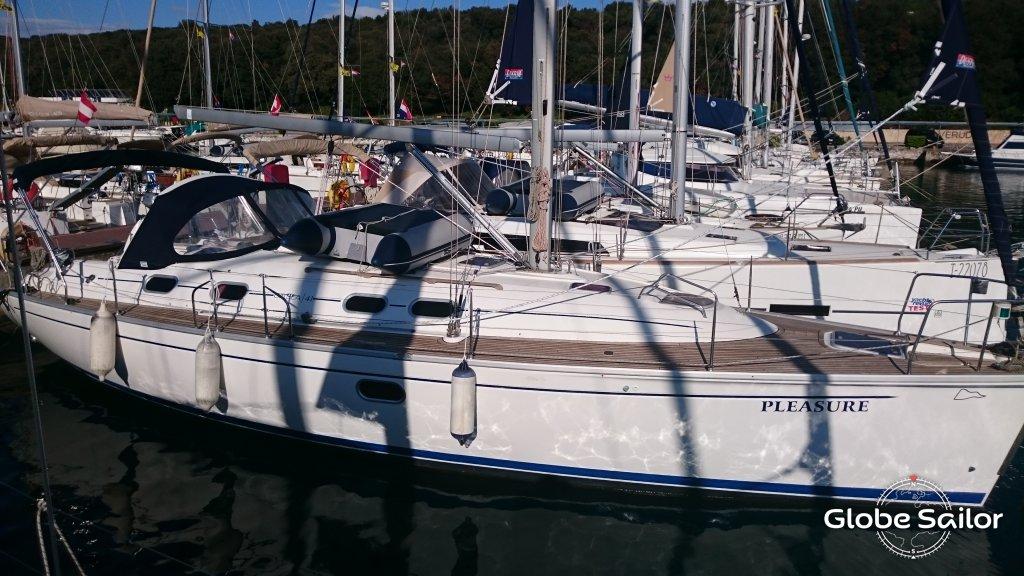 location gib sea 41 depuis le port de marina veruda en croatie n 20623 269. Black Bedroom Furniture Sets. Home Design Ideas