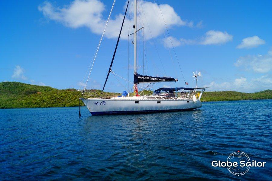 location sun kiss 47 depuis le port de le marin en martinique n 21154 673. Black Bedroom Furniture Sets. Home Design Ideas