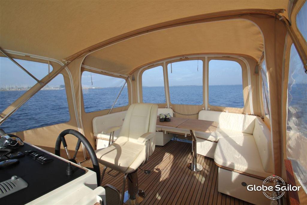Noleggio grand sturdy 40 9 dal porto di aalsmeer a paesi for Houseboat amsterdam prezzi
