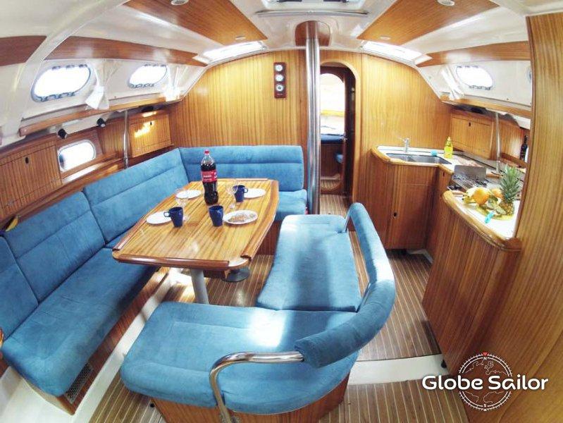 location gib sea 43 depuis le port de aci marina split en croatie n 2660 307. Black Bedroom Furniture Sets. Home Design Ideas