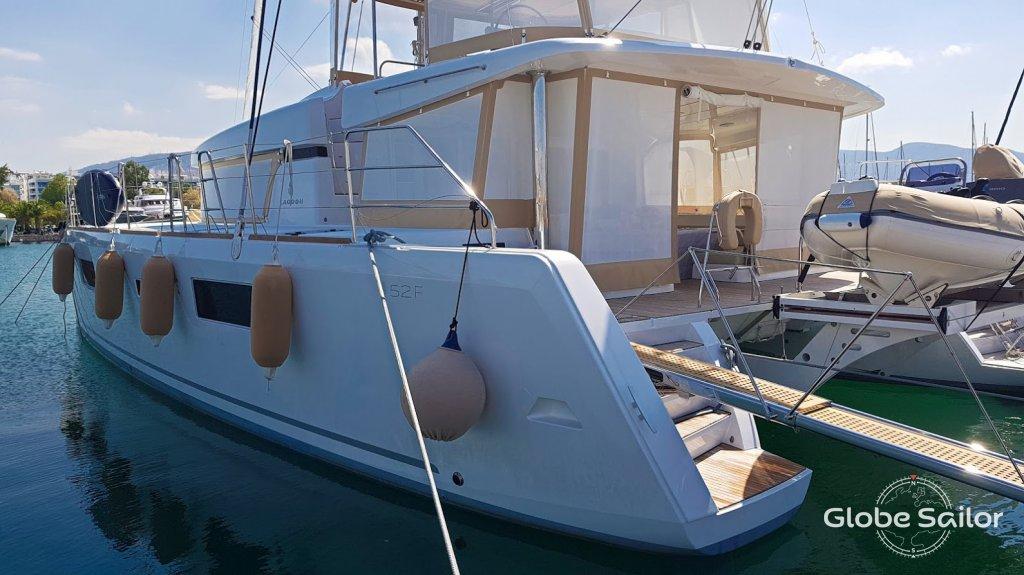 Alquiler Lagoon 52 desde el puerto de ios en Grecia - n