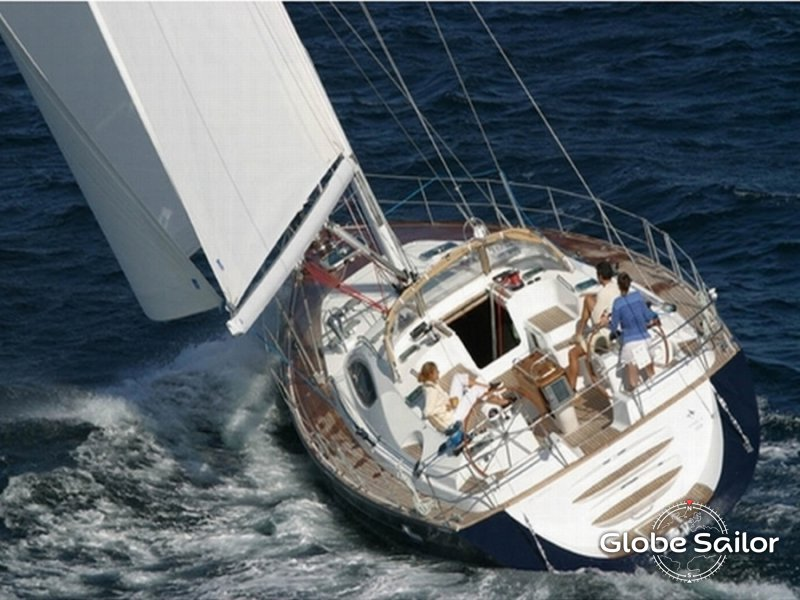 Rental Sun Odyssey 54 Ds From The Charter Base Marina Alimos