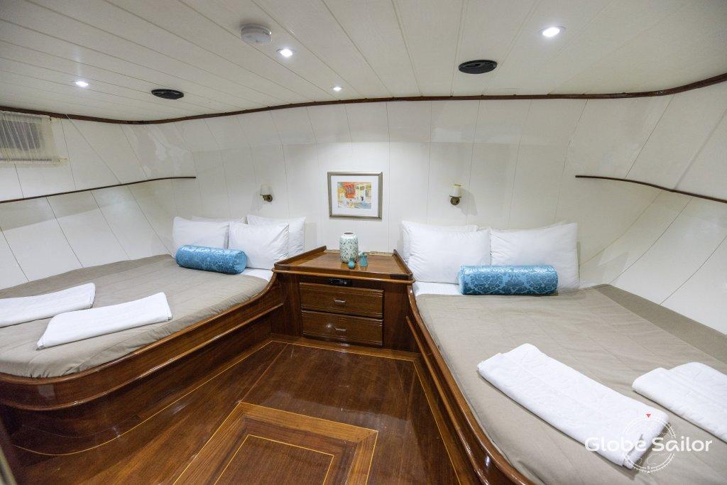 Noleggio faralya dal porto di fethiye a turchia n 958 582 for Noleggio di cabine di istrice
